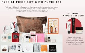 Free 24-Piece Gift with Purchase With Your $125 Beauty & Fragrance Purchase @ Nordstrom