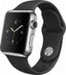 $249 Apple Watch 38mm Stainless Steel Case Black MJ2Y2LL/A