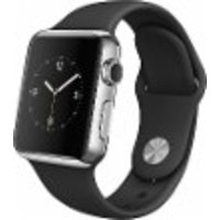 Apple Watch 38mm Stainless Steel Case Black MJ2Y2LL/A