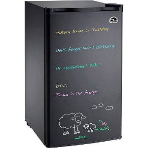 Igloo Eraser Board Refrigerator, 3.2 cu ft