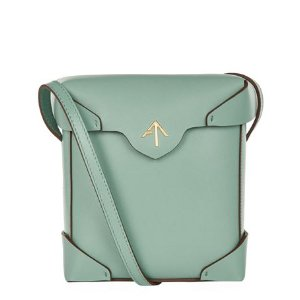 Manu Atelier Mini Pristine Box Shoulder Bag
