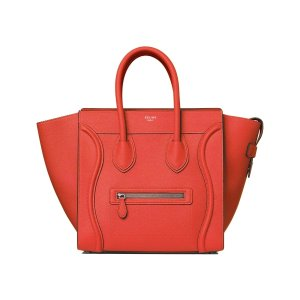 Céline Vermillion Mini Handbag