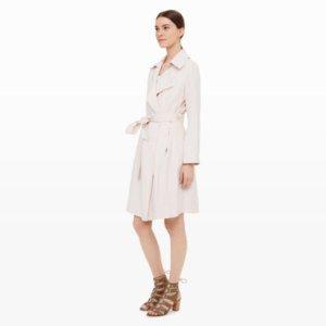 Womens | Coats and Trench Coats | Elila Soft Trench Coat | Club Monaco