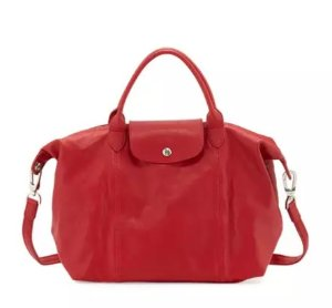 Up to $100 Off with Longchamp Le Pliage Cuir Purchase @ Neiman Marcus