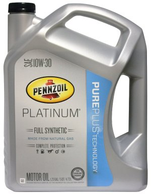 From $9.10 Prime Members Exclusive: 5-Quart Pennzoil Platinum Full Synthetic Oil