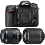 $799 Nikon D7200 DSLR w/ 18-55mm Zoom + 55-200mm NIKKOR Lens Refurbished