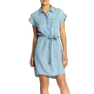 Denim Dress in Medium Wash from Joe Fresh