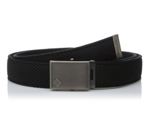 $10.85 Columbia Men's 1 3/8 Inch Web with Mesh Overlay Belt