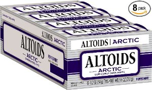 Altoids Artic Mints, Peppermint pack of 8