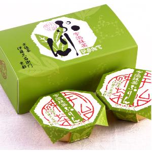 ITOHKYUEMON Kyoto Uji Matcha Pudding, 4pcs