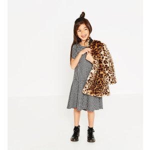 Gingham check dress - DRESSES-GIRL | 4-14 years-KIDS-SALE | ZARA United States