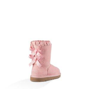 Girls' Bailey Bow Ruffles Sheepskin Boots