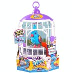 $8.99 Little Live Pets Season 3 Bird with Cage - Funky Feathers