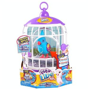 Little Live Pets Season 3 Bird with Cage - Funky Feathers