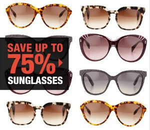 Up to 75% Off+Extra 10% OFF Designer Sunglasses Blowout in Fashion Dash