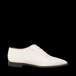 Martha Pointed Lace Up Acne Studios White -