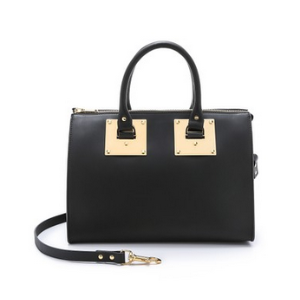 Sophie Hulme Zip Top Bowling Bag | SHOPBOP SAVE UP TO 25% Use Code: GOBIG16
