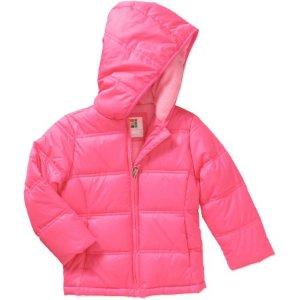 $5.50Healthtex Baby Toddler Girls' Bubble Puffer Jacket