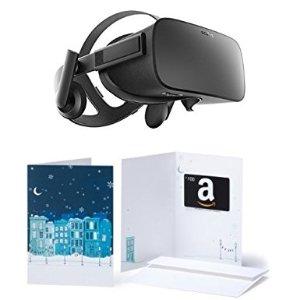 $599.99Oculus Rift - Virtual Reality Headset + $100 Amazon Gift Card
