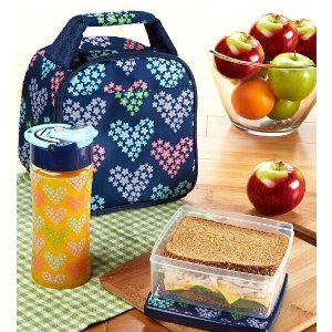 Gabby Kids' Insulated Bag Kit with Lunch Pod & Tritan Water Bottle – Fit & Fresh