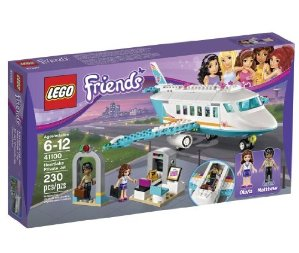 $19.19 LEGO Friends 41100 Heartlake Private Jet Building Kit