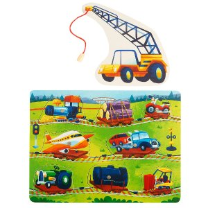 Imaginarium Magnetic Puzzle 8-Piece - Train