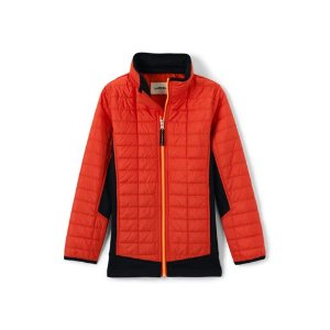 Boys Primaloft Hybrid Jacket from Lands' End