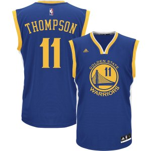 adidas Youth Golden State Warriors Klay Thompson #11 Road Royal Replica Jersey| DICK'S Sporting Goods