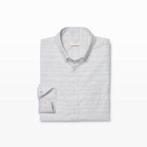 Mens | Stripe | Slim Faded Stripe Shirt | Club Monaco