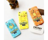 Hot Game Pokemon Go Cool Pikachu Soft Bumper Case for iPhone 6 6S 6S Plus 5S SE