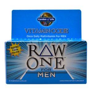 Garden of Life Vitamin Code® RAW One™ Multivitamin for Men