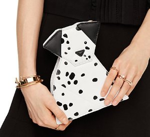 $122.25 rose-colored glasses origami dalmatian @ kate spade