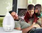 $10 InnoGear 2.4L Cool Mist Humidifier Ultrasonic Personal Air Humidifiers with Waterless Auto Shut Off