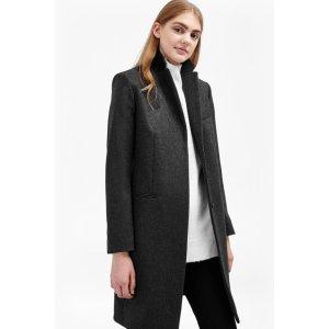 Platform Felt Wool Coat | Coats | French Connection Usa