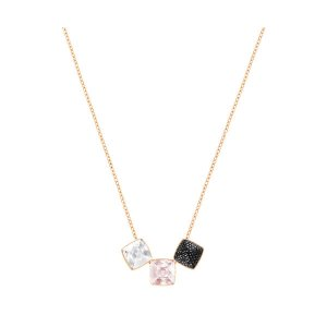 Glance Necklace, Black - Jewelry - Swarovski Online Shop