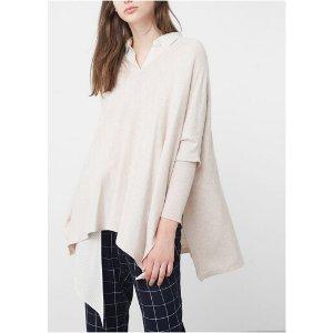 Oversize cotton sweater