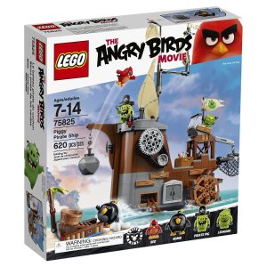 LEGO Angry Birds 75825 Piggy Pirate Ship Building Kit