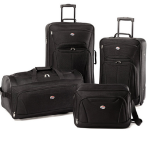 $53.99 American Tourister Fieldbrook II Four-Piece Luggage Set