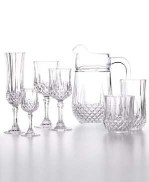 EXTRA 30% OFF!  $8.39 Longchamp Glassware Collection