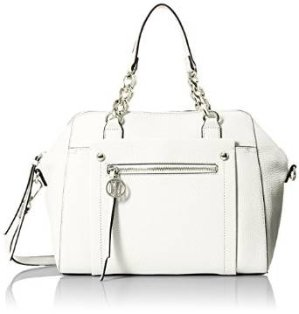 Tommy Hilfiger Tessa Dome Satchel Bag, White