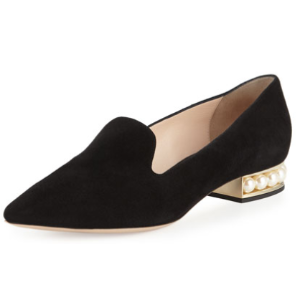 Nicholas Kirkwood Casati Pearly Suede Loafer