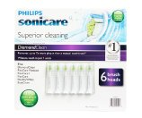 Philips Sonicare DiamondClean Brush Heads 6 Count