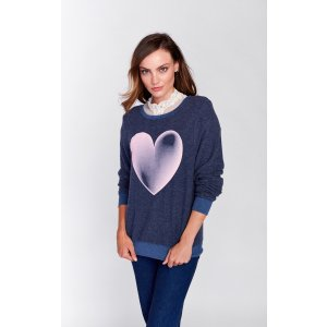 Faded Love Baggy Beach Jumper