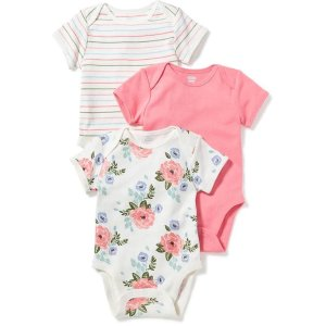 3-Pack Bodysuit Set for Baby | Old Navy