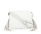Rebecca Minkoff Wendy Small Leather Crossbody Bag, White