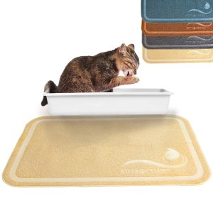 Kittycentric Cat Litter Mat with Scatter Control - Extra Large
