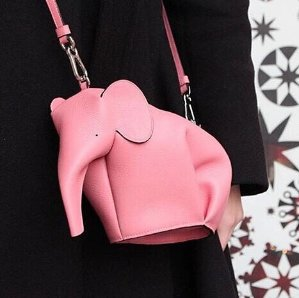 $50 Off $200 LoeweLeather Elephant Coin Purse @ Neiman Marcus