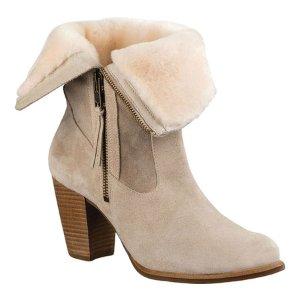 Womens UGG Lynda Boot - Natural/Natural - FREE Shipping & Exchanges