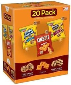 $5.56 Keebler Cookie and Cheez-It Variety Pack, 21.2 Ounce