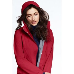 Women's Rain Coat from Lands' End